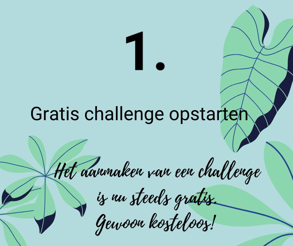 start jouw gratis challenge